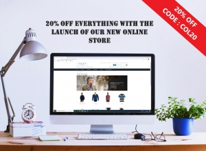 Proud To Launch New Online Store Now LIVE